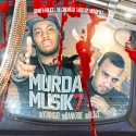 Murda Musik 7 mixtape cover art