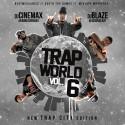 Trap World 6 mixtape cover art
