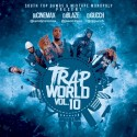 Trap World 10 mixtape cover art