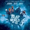 Trap World 10 mixtape cover art