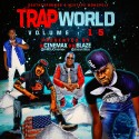Trap World 15 mixtape cover art
