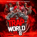 Trap World 8 mixtape cover art