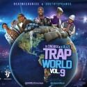 Trap World 9 mixtape cover art