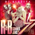 R&B Summer Jams 7 (Hosted By Keyshia Cole) mixtape cover art