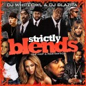Strictly Blends mixtape cover art