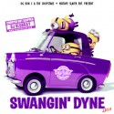 Swangin Dyne 2K14 mixtape cover art