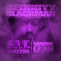 Redboyy Blackman - Smoke & Lean mixtape cover art