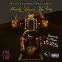 Bre Milz - Finally Leavin My City mixtape cover art