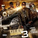 Deep South Stuntin 3 mixtape cover art