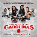 Grinders In Da Carolinas 8 mixtape cover art