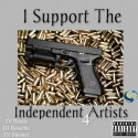 I Support The Independent Artists 4 mixtape cover art