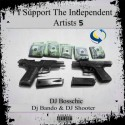 I Support The Independent Artists 5 mixtape cover art