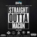 Straight Outta Macon mixtape cover art