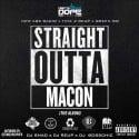 Straight Outta Macon mixtape cover art