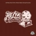 DJ Burn One - All Live Everythang mixtape cover art