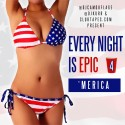 Every Night Is Epic 4 (Merica) mixtape cover art