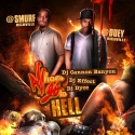 Smurf & Duey - All Hoes Go To Hell mixtape cover art