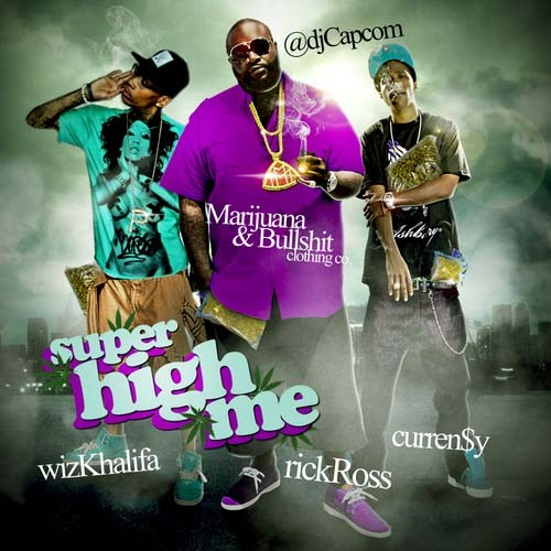 DJ Capcom - Super High Me Mixtape