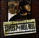 I Run Tha Block (Styles P VS. Hell Rell) mixtape cover art