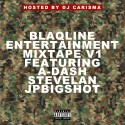 Blaqline Ent. mixtape cover art