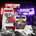 Bama Vs. The Bayou mixtape cover art