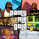 Cochi$e x Basquiat (PMG) - Paint Me Gold mixtape cover art