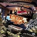 Large On Da Beats mixtape cover art
