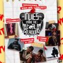 #IndiesMakeTheWorldGoRound2 mixtape cover art