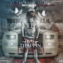 Young Bam - Trapping Foreal mixtape cover art