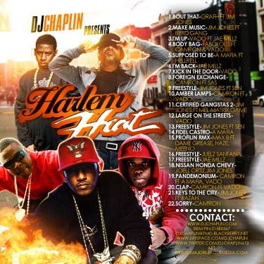 Harlem Heat ft. Jim Jones, Vado & Jae Millz Mixtape
