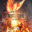 Guttah Boi Status - Restitution mixtape cover art
