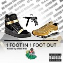 Trigga - One Foot In One Foot Out mixtape cover art