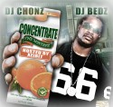 Concentrate (Hosted By Xzibit) mixtape cover art