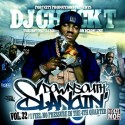 Down South Slangin, Vol. 32 (I Feel No Pressure In The 4th Quarter) mixtape cover art