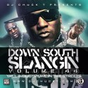 Down South Slangin' Vol. 44 mixtape cover art