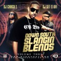Down South Slangin Blends Vol. 3 mixtape cover art
