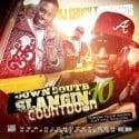 Down South Slangin Countdown 10 mixtape cover art