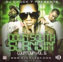 Down South Slangin Countdown, Vol. 6 mixtape cover art
