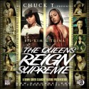 Lil Kim & Trina - The Queens Reign Supreme mixtape cover art