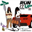 LCB - Run It Up mixtape cover art