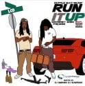 LCB - Run It Up mixtape cover art