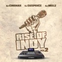 Rise Of The Indy 2 mixtape cover art