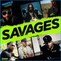 Savages mixtape cover art