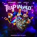 Trap World 16 mixtape cover art