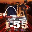 Slidin Down I-55 mixtape cover art