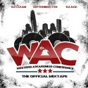 WAC (Western Athletic Conference) mixtape cover art