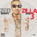 Zed Zilla - Rent's Due 3 mixtape cover art