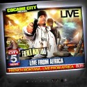 French Montana - Live From Africa mixtape cover art