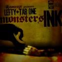 Lefty & Tab One - Monsters Ink mixtape cover art