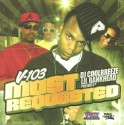 V-103 Most Requested mixtape cover art